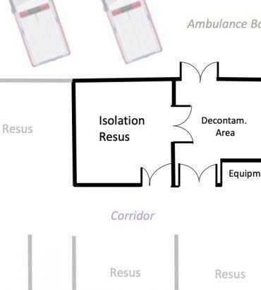 Perspective: Decontamination Isolation Resuscitation Room